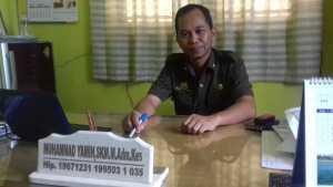 Ketua Persakmi Pangkep Muhammad Yamin.