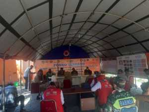 Posko Tim Gugus Covid-19 Kabupaten Pangkep.
