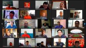 Meeting PSSI dan Klub-klub Liga 1 2020 (dok. PSSI).