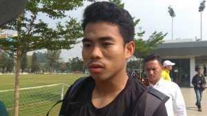Kapten Timnas Indonesia U-19, Nurhidayat Haji Haris. (Suara.com/Arief Apriadi)
