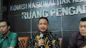 Komnas HAM menilai pelibatan TNI dalam penanganan terorisme harus diperjelas. (Suara.com/Imron Fajar)