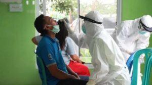 Sebagai ilustrasi: Tes virus corona di Jakarta (Antara)