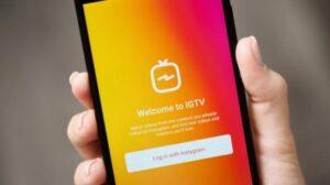 Ilustrasi aplikasi IGTV. [Shutterstock]