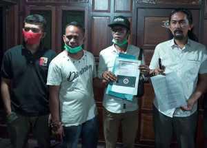 Tim Kuasa Hukum Bakal Calon Bupati dan Wakil Bupati Muhammad Yusran Lalogau dan Syahban Sammana MYL-SS. (Ist)