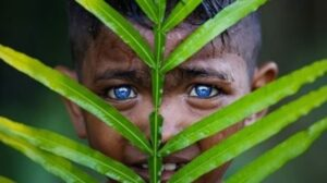 Anak-anak bermata biru. [Instagram/@geo.rock888]