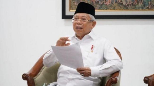 Wakil Presiden Maruf Amin. (Foto: Dokumentasi KIP-Setwapres)
