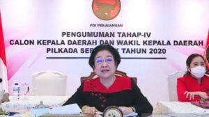 Ketua Umum DPP PDI Perjuangan Megawati Soekarnoputri (Antara/Syaiful Hakim)
