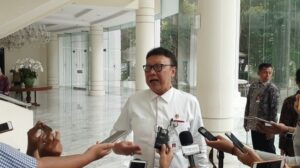 Menteri Pemberdayagunaan Reformasi dan Birokrasi (Menpan RB) Tjahjo Kumolo. (Suara.com/Ria Rizki).