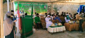 Bupati Pangkep Syamsuddin Hamid meresmikan Pondok pesantren Syaikh Zainuddin Nahdlatul Wathan Desa Malaka, Kecamatan Tondong Tallasa, Sabtu 3 Oktober 2020. (Ist).