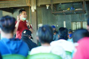 Calon Bupati Bupati Pangkep, Muhammad Yusran Lalogau (MYL)./(Ist).