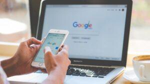 Ilustrasi Google Search. [Shutterstock]