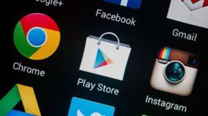 Google Play Store, lokasi mengunduh Go SMS Pro. Sebagai ilustrasi [shutterstock]