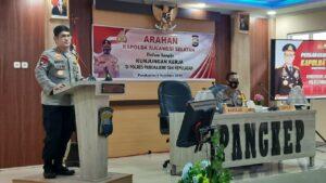 Kapolda Sulawesi Selatan Inspektur Jenderal Merdisyam. (Ist).