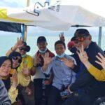 Andi Ilham Zainuddin (Tengah) berfoto bersama tim pemenangan AIZ-Risma.(Ist).