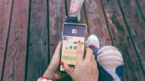 Ilustrasi aplikasi Facebook. [Shutterstock]