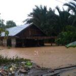 Banjir Kalimantan Selatan awal tahun 2021. (dok.kanalkalimantan.com)