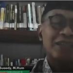 Anggota Ombudsman RI Ahmad Suaedy.(Youtube/Pangkep tv).