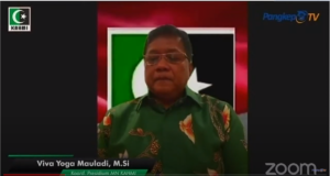 Koordinator Presidium MN KAHMI Viva Yoga Mauladi.(Youtube/Pangkep TV).