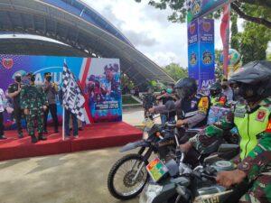 """Kodim 1421 Kabupaten Pangkep meluncurkan tagline """"Aku Sahabat Rakyat"""" (Ist)."""