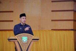 Bupati Pangkep Muhammad Yusran Lalogau.(Pangkep.terkini.id).