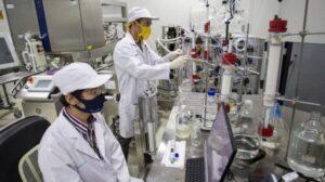Ilustrasi--Peneliti meriset pembuatan vaksin Merah Putih di salah satu laboratorium PT Bio Farma (Persero), Bandung, Jawa Barat, Rabu (12/8/2020). ANTARA FOTO/Dhemas Reviyanto
