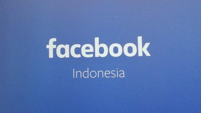 Logo Facebook Indonesia. [Suara.com/Aditya Gema Pratomo]