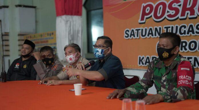 Tim Satgas Covid-19 Kabupaten Pangkep. (Pangkep.terkini.id).