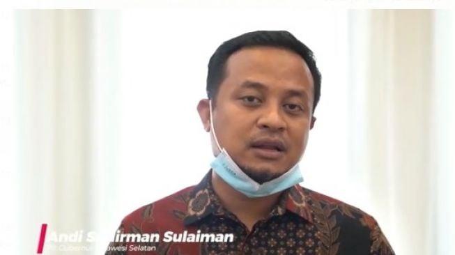 Plt Gubernur Sulsel Andi Sudirman Sulaiman.(suarasulsel.id).